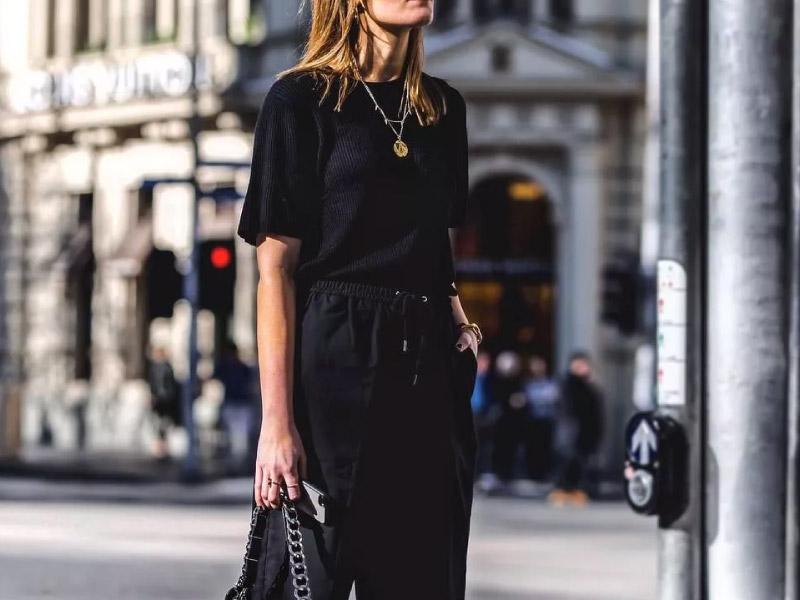 Moda all black