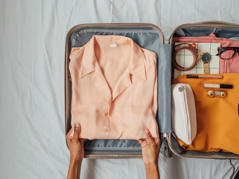 Aprenda a arrumar suas malas